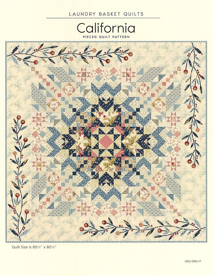 New california quilt pattern laundry basket quilts lbq 0861 p 9 Modern Laundry Basket Quilt Patterns Inspirations