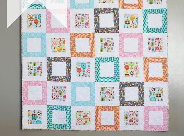 New framed squares quilt pattern square quilt quilt patterns 10 Interesting Easy Square Quilt Patterns Gallery