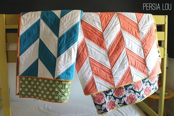 New herringbone quilts part two persia lou 11   Herringbone Quilt Pattern Gallery