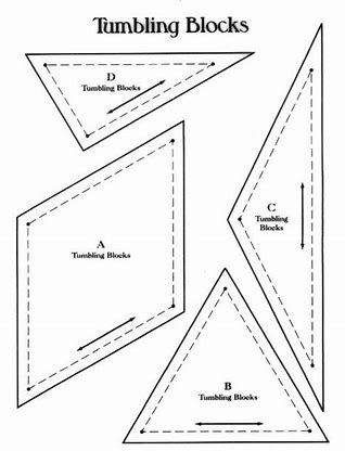 New image result for printable tumbling block quilt pattern 11 Elegant Tumbling Blocks Quilt Pattern Template Gallery