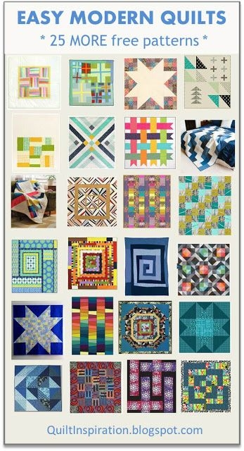 New quilt inspiration free pattern archive modern quilts 11 Modern Easy Modern Quilt Patterns