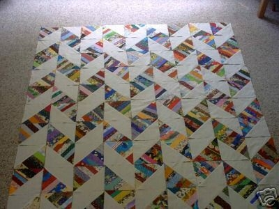 New quilter teacher author hopeless scrapaholic bonnie k Interesting Scrappy Half Square Triangle Quilt Patterns Gallery