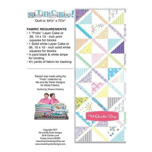 New stacks downloadable pdf quilt pattern me and my sister 11 Beautiful Me And My Sister Quilt Patterns Inspirations