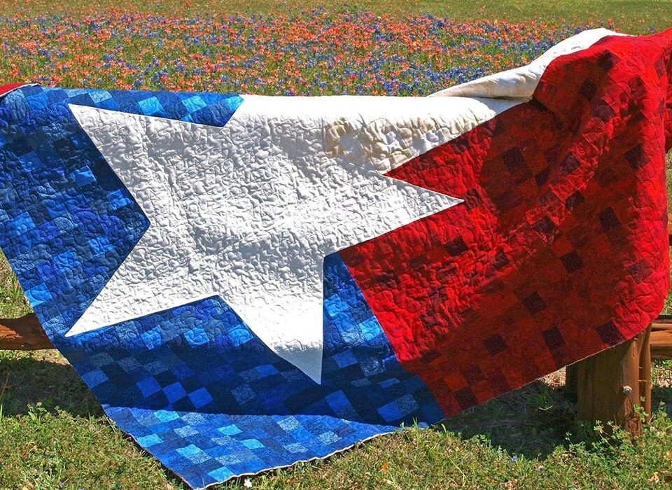 New texas 9 patch flag quilt Cozy Texas Flag Quilt Pattern Gallery