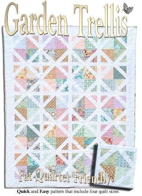 New the fabric garden garden trellis quilt pattern 9 Beautiful Garden Trellis Quilt Pattern Gallery