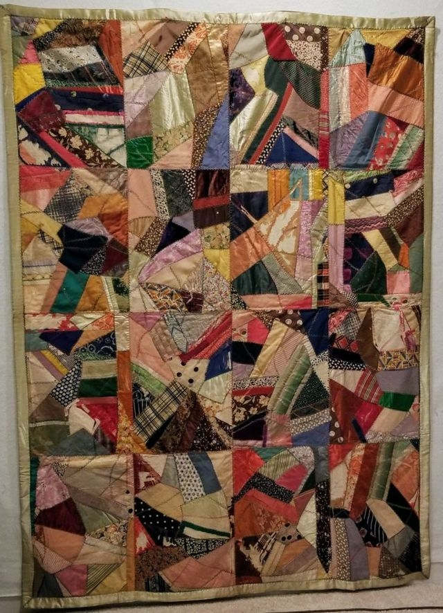 New vintage crazy quilts dizzy quilter in 2020 crazy quilts Modern Vintage Crazy Quilt Inspirations