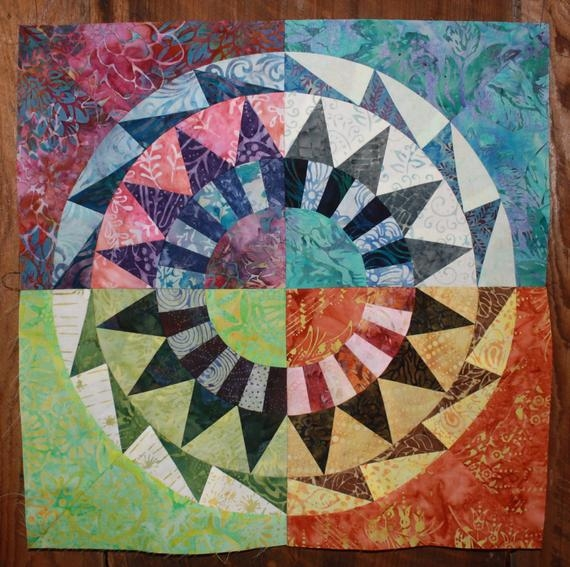 new york beauty quilt block 4 paper piecing pattern Interesting New York Beauty Quilt Block Pattern Inspirations