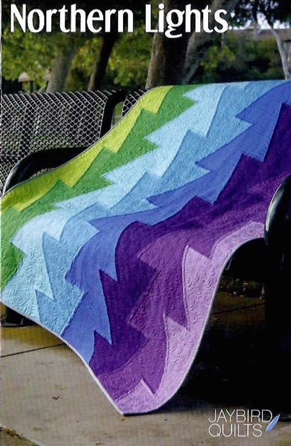 northern lights quilt pattern jaybird quilting 10 New Northern Lights Quilt Pattern
