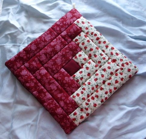 original amish pennsylvania dutch red floral potholder 9 Cozy Amish Quilted Pot Holders For Sale Inspirations