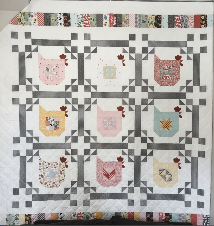 pin on quilts 11 Stylish Chicken Scratch Quilt Pattern Inspirations