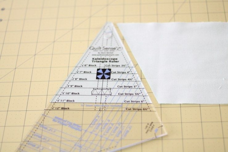 quilt sense kaleidoscope triangle ruler how to sew a 10 Cool Quilting Triangle Ruler