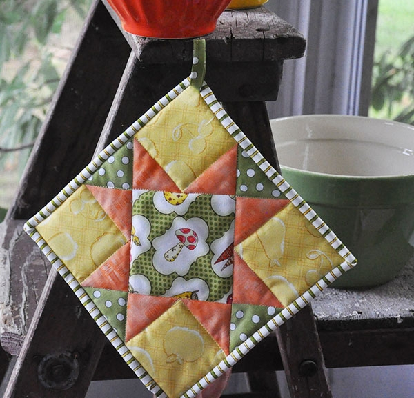 Permalink to 9 Elegant Quilted Potholder Pattern Inspirations