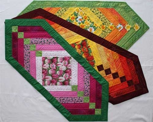 sewing patterns quilted table runners patterns chevron 9 Modern Quilt Patterns For Table Runners