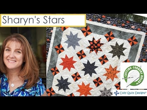sharyns stars strip presentation cozy quilt designs 10 Unique Cozy Quilt Designs Patterns Gallery