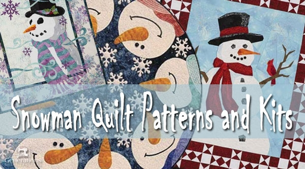 snowman quilt patterns not just for the holidays 11 Stylish Snowman Quilt Pictures