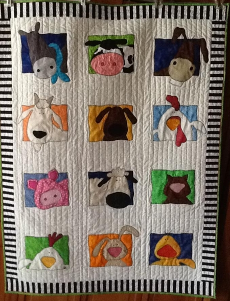 Permalink to Unique Farm Animal Quilt Patterns Inspirations