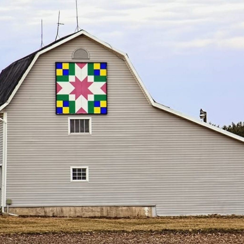 Stylish barn quilts heres what they mean and where they came from 10   Quilt Patterns For Barns Gallery