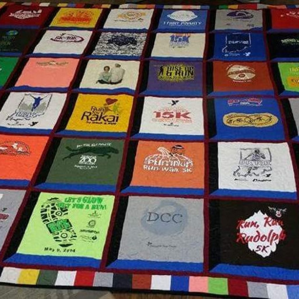 Stylish free quilt pattern t shirt quilt apqs 10 Interesting Patterns For TShirt Quilts Gallery