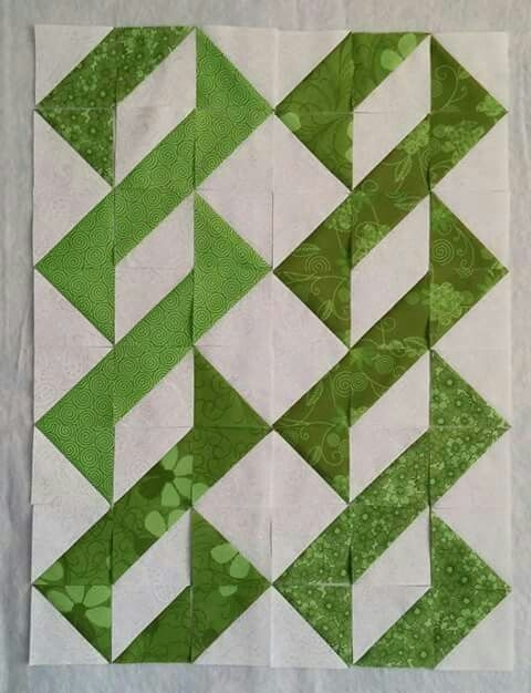 Stylish half square triangles you could put a a strip of sashing in 10 Unique Free Half Square Triangle Quilt Block Patterns Inspirations