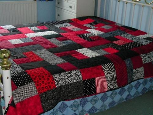 Stylish how to make patchwork quilts 24 creative patterns guide Cozy King Size Patchwork Quilt Pattern