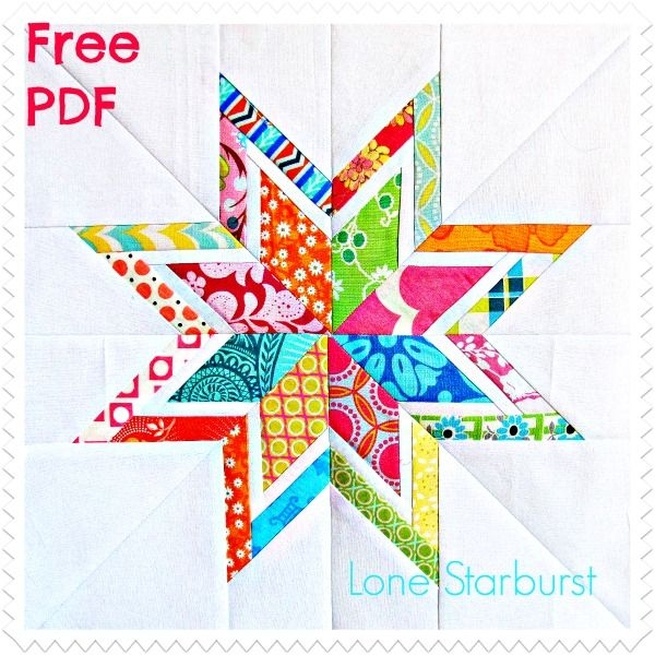 Stylish lone star free quilt block pattern six white horses Interesting Wombat Siouxsie Quilts Paper Piecing Patterns Inspirations