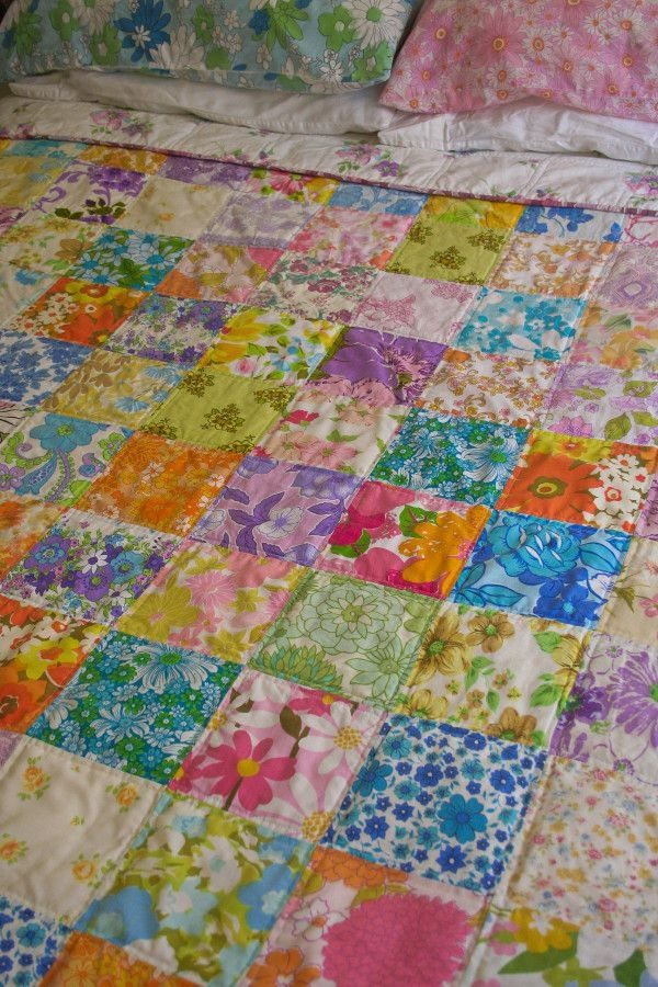 Permalink to Unique Vintage Sheet Quilt Gallery