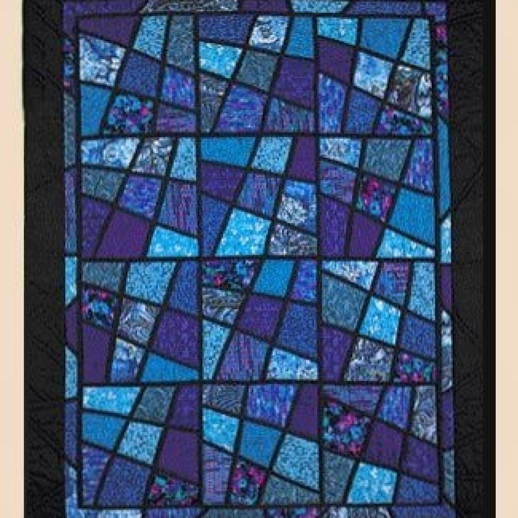 Stylish magic tiles kathleen bissett crazy quilts patterns 9 Stylish Magic Tiles Quilt Pattern