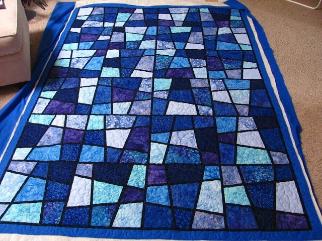 Stylish marilyns magic tiles tiled quilt stained glass quilt quilts 9 Stylish Magic Tiles Quilt Pattern