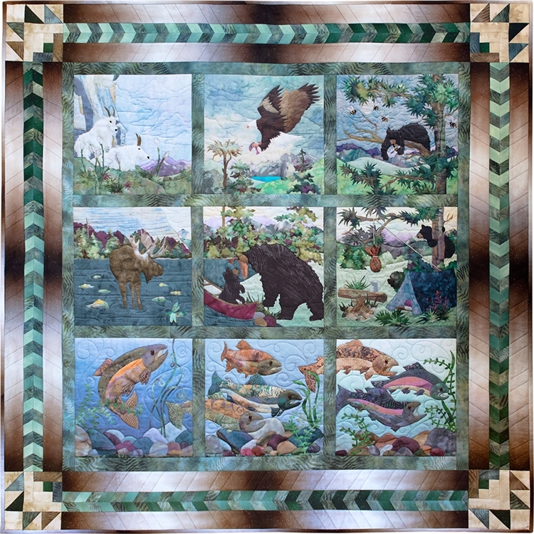 Stylish out about panel pieced quilt border pattern 10 Modern Quilt Patterns With Panels