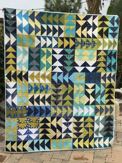 Stylish random thoughtsdo or di flya stitch tease bee quilt 11 Modern Flying Geese Quilt Pattern History