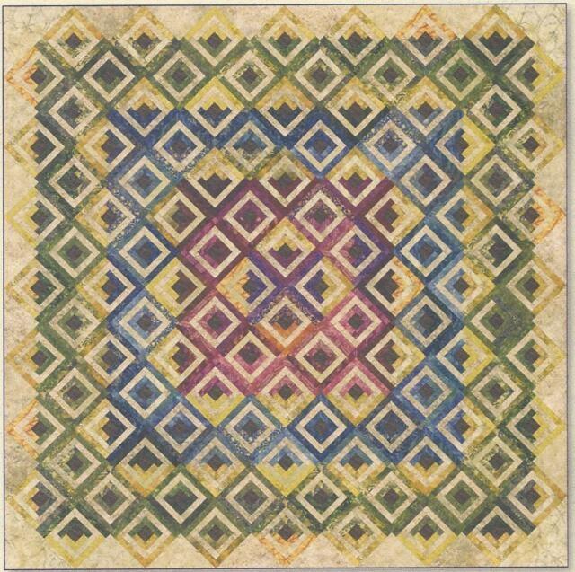 Stylish summer cabin quilt pattern edyta sitar of laundry basket quilts 9 Modern Laundry Basket Quilt Patterns Inspirations