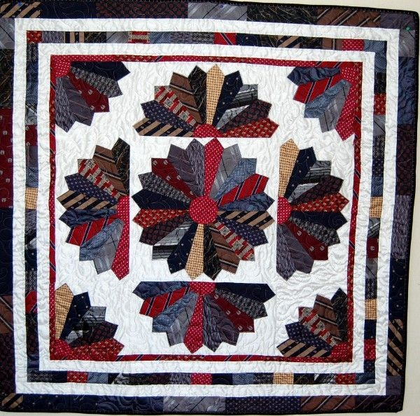 Stylish tie quilts showing various tie quilts both collections and Cool Tie Quilt Ideas For Gifts Inspirations