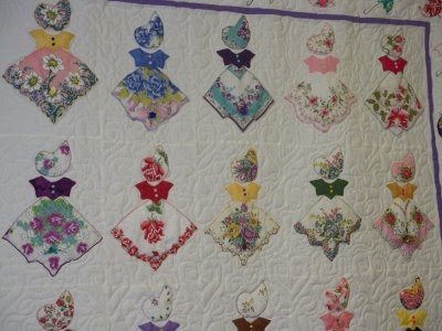 Stylish vintage hankie quilt the quilting forum missouri stars 10 Beautiful Handkerchief Butterfly Quilt Pattern
