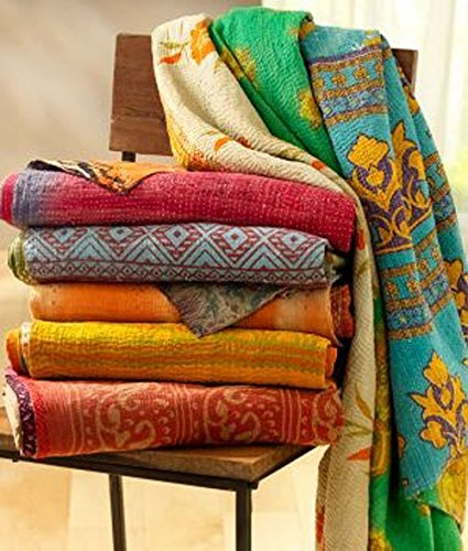 Permalink to 9 Stylish Vintage Kantha Quilts Gallery