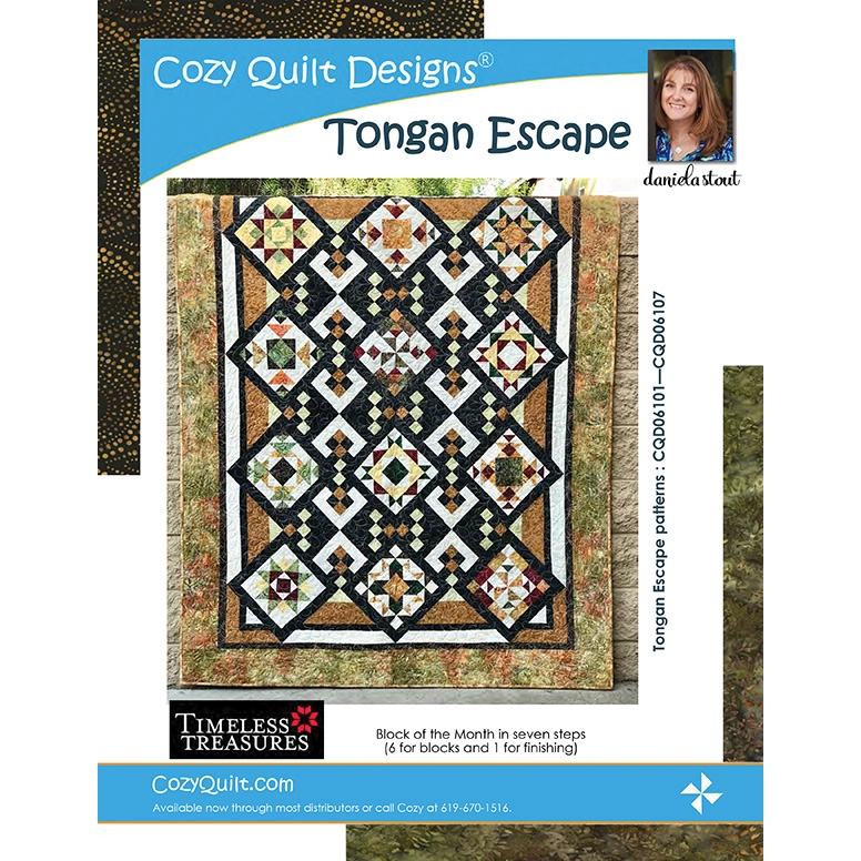 tongan escape bom quilt pattern cozy quilt designs 10 Unique Cozy Quilt Designs Patterns Gallery