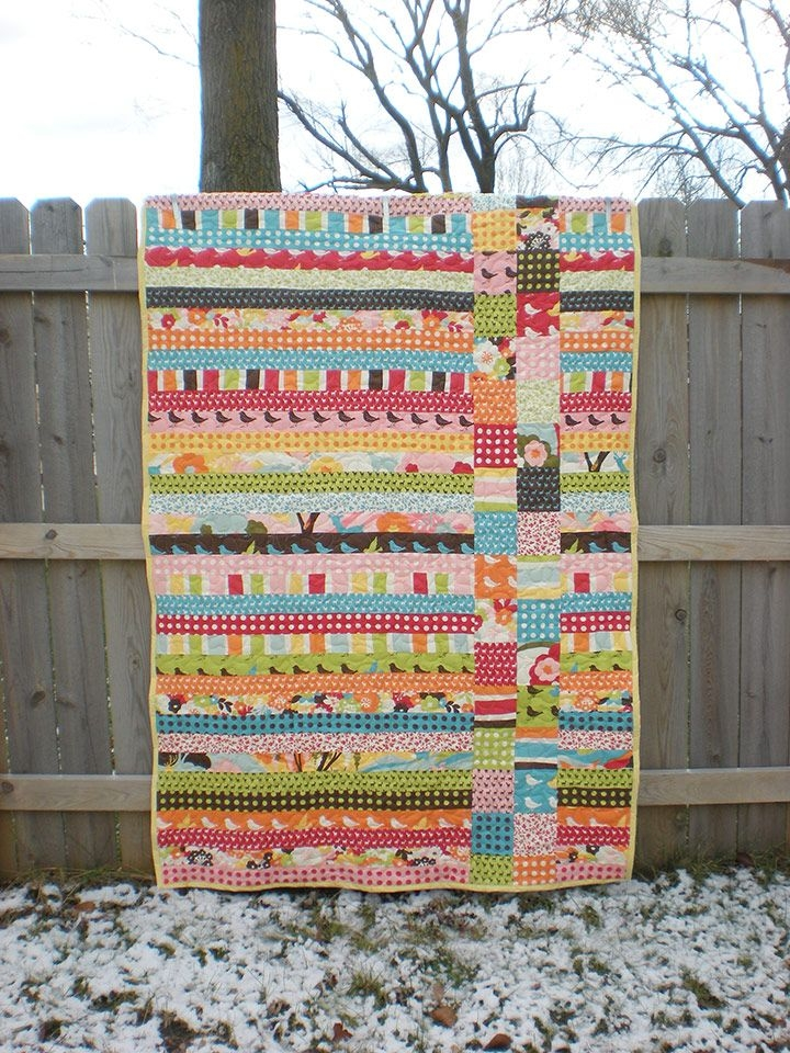 tonya dusold oh deeri kept your quilt for myself 11 Elegant Quick Jelly Roll Quilt Patterns Inspirations