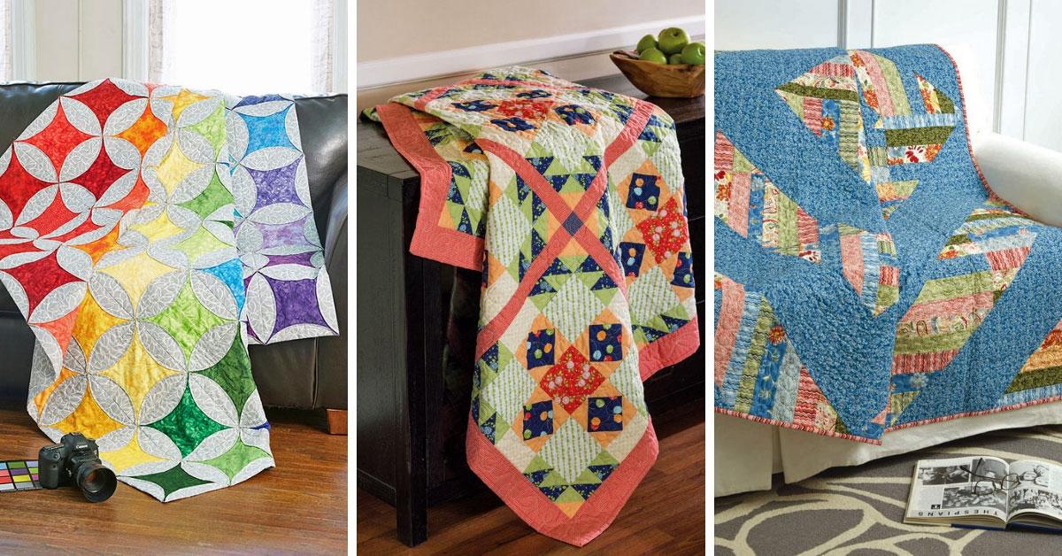 Unique block friday big block quilts quilting daily New Big Quilt Block Patterns Inspirations