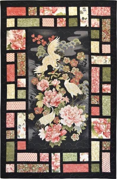 Unique gorgeous design leesa chandler panel quilt patterns 10 Unique Quilt Patterns For Panels Gallery