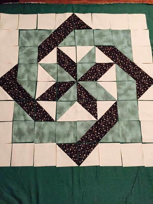 Unique its easy to see how this big block is made since it is not New Big Quilt Block Patterns Inspirations