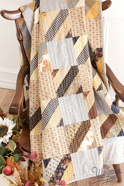 Unique jelly roll check quilt with fat quarter shop my wandering path 10 Beautiful Fat Quarter Jelly Roll Quilt Inspirations
