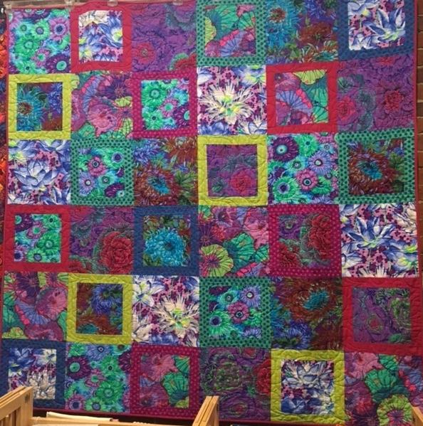 Unique kaffe fassett cool floral parade kit 10 Cool Kaffe Fassett Quilt Patterns