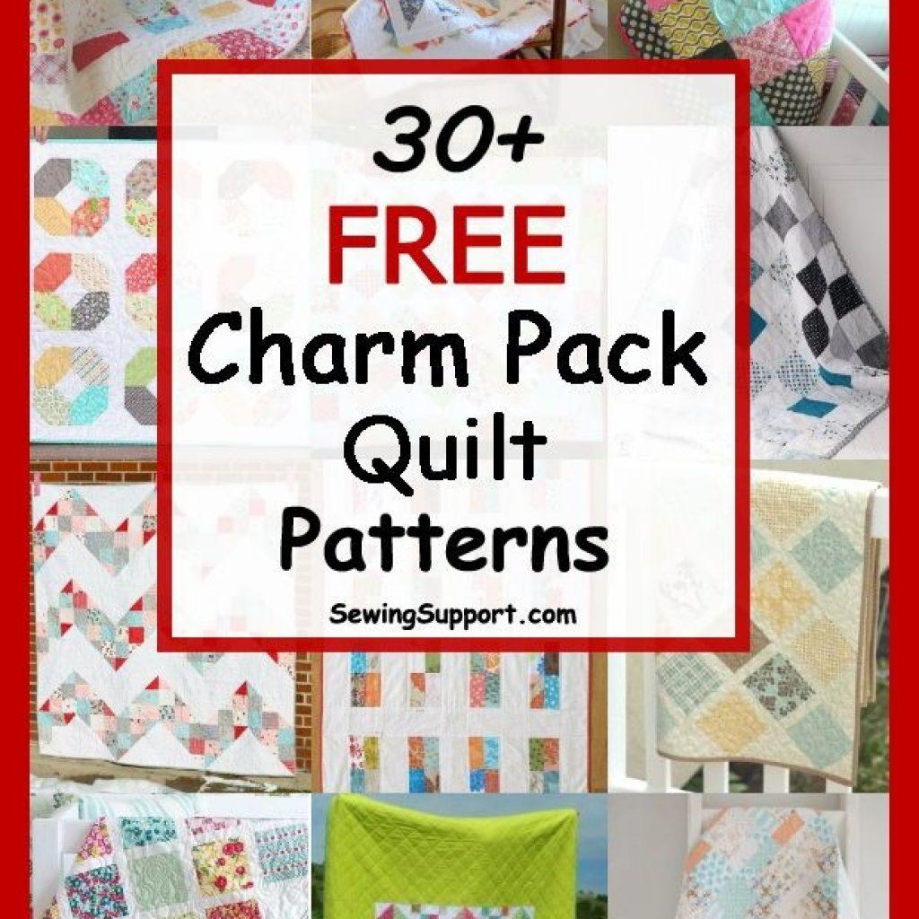 Unique over 30 free quilt patterns tutorials using charm packs 5 9 Beautiful Quilt Patterns Using Charm Squares Inspirations