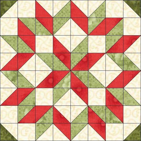 Unique pin joy rudeau on christmas half square triangle quilts 10 Unique Free Half Square Triangle Quilt Block Patterns Inspirations