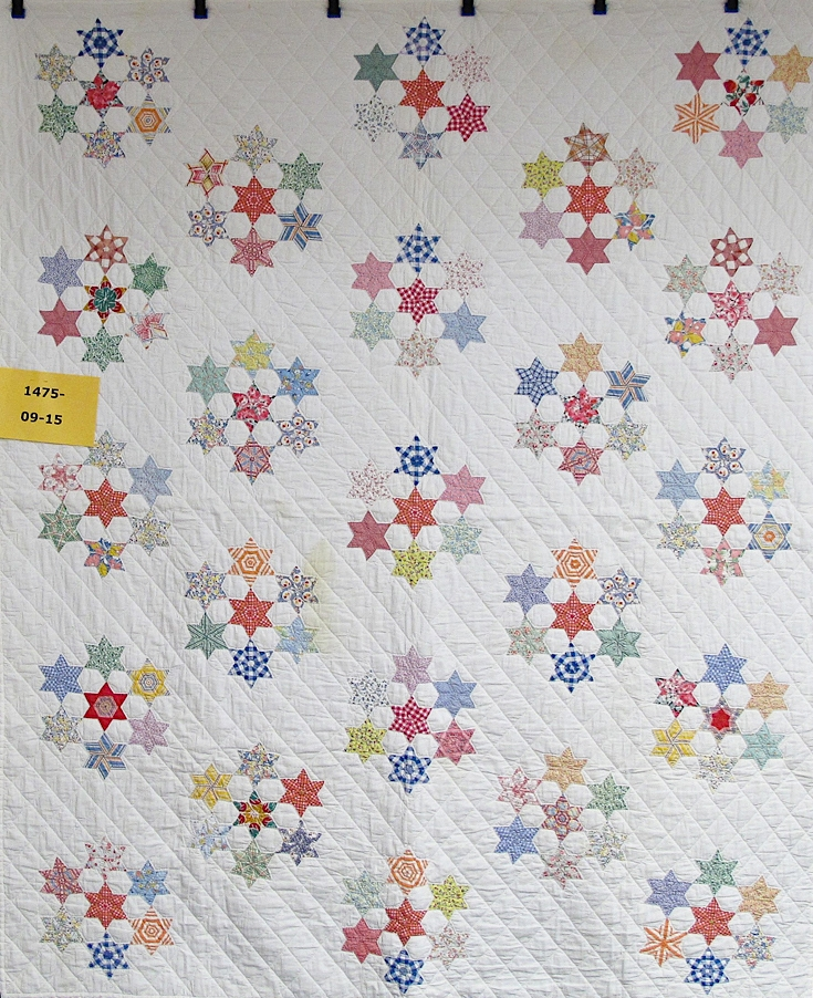 Unique quilt stories from the museum of texas tech university 11 Elegant Seven Sisters Quilt Pattern