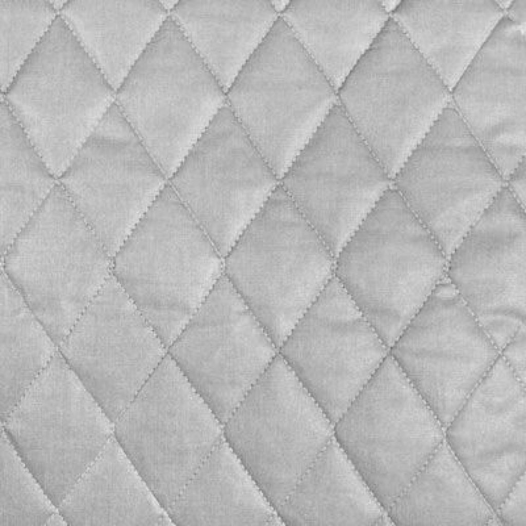 Unique shop silver quilted therma flec heat resistant fabric at 10   Elegant Therma Flec Quilted Fabric Gallery
