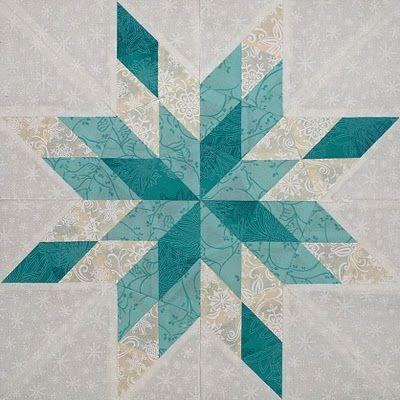Unique snowflake quilt block google search snowflake quilt 11 Beautiful Snowflake Quilt Block Pattern