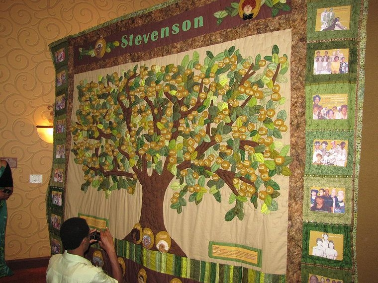 Unique stevenson genealogy family tree quilt patterns family 11 Interesting Family Tree Quilt