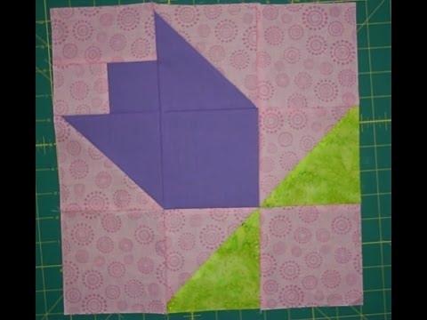 Unique tulip quilt block 9   Tulip Quilt Block Pattern Inspirations