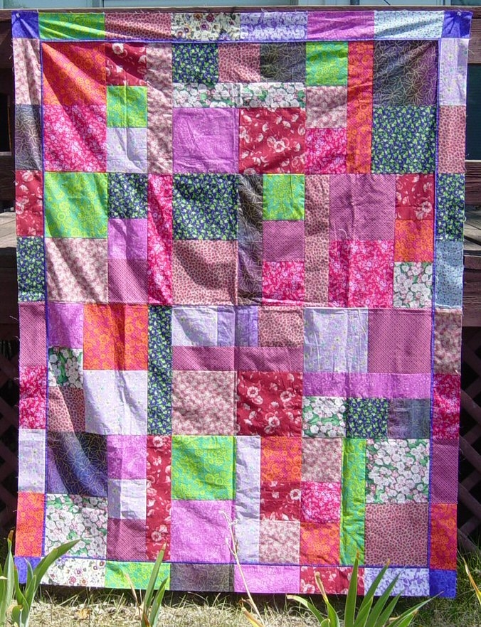 Unique wips 9   Wickedly Easy Quilt Pattern