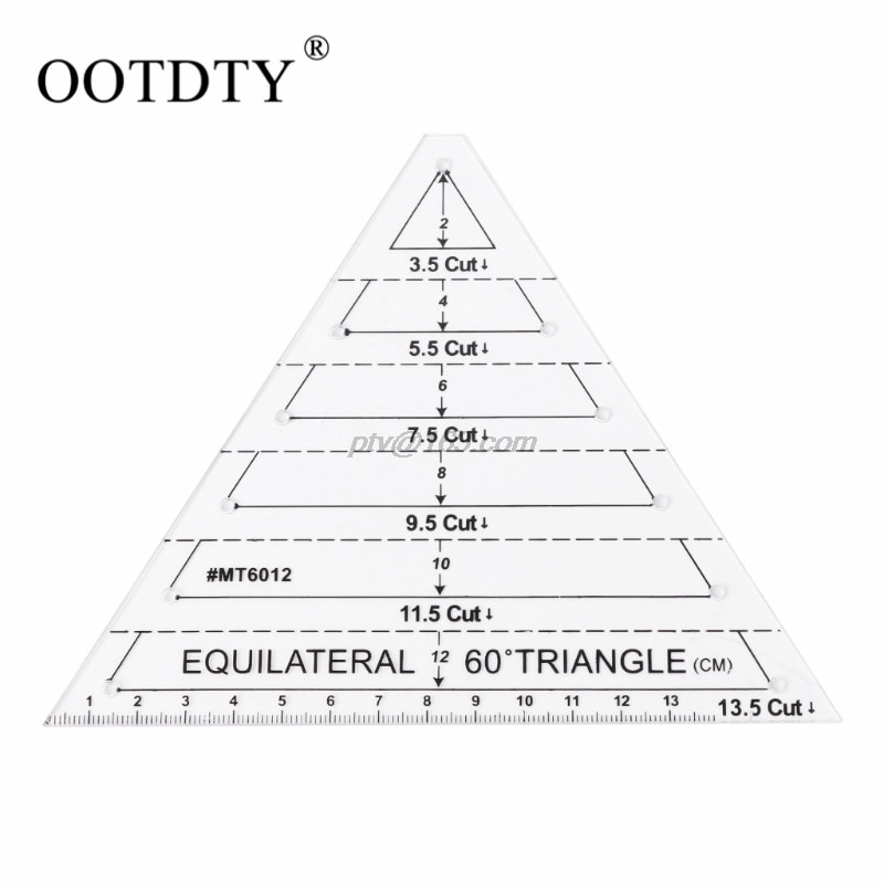 Permalink to 10 Cool Quilting Triangle Ruler